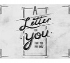 a letter for you wettbewerb