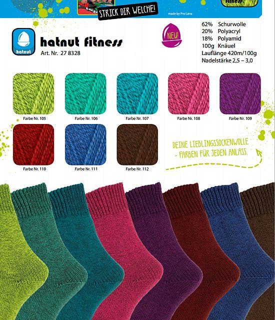 Sockenwolle Hatnut Fitness