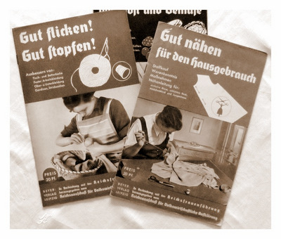Gut flicken! Gut stopfen!