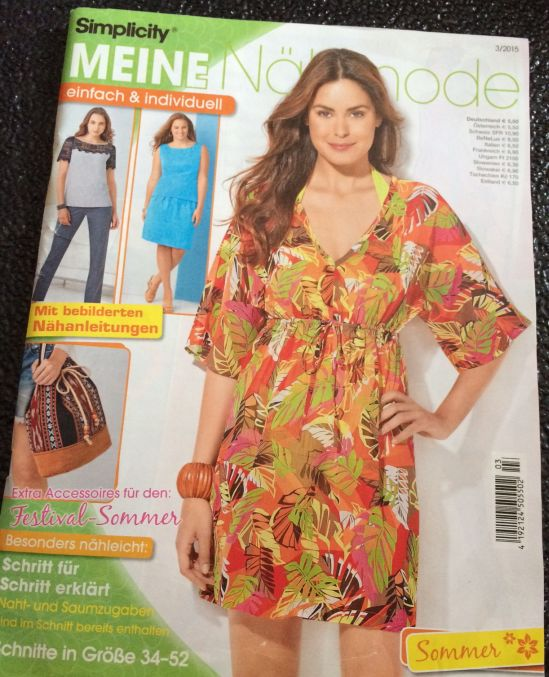 Nähmode Simplicity Sommer 2015