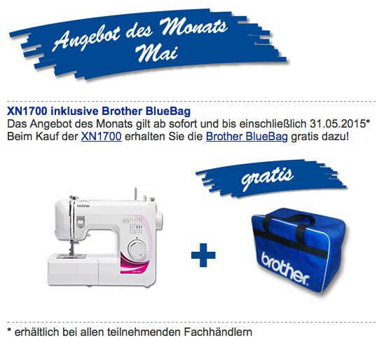 Brother Angebot Mai 2015