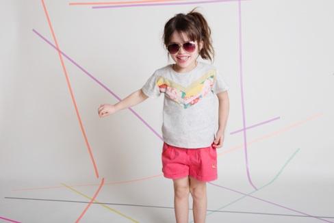 Selbstgenähtes Kinder-T-Shirt Jersey