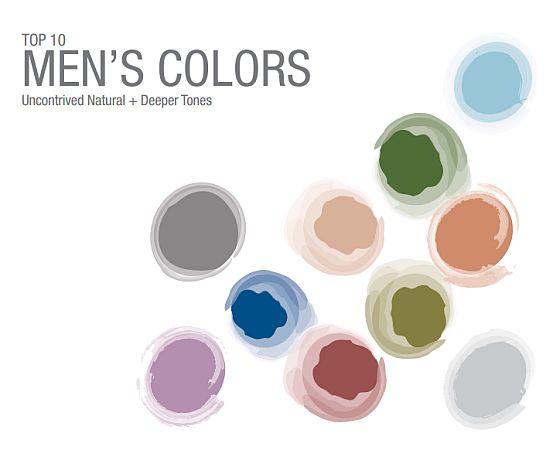 Pantone Top10 Mens Colors Marsala