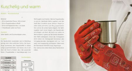 Handschuhe Nähen Fleece Mia Führer