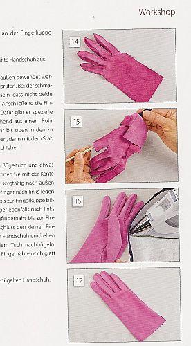 Workshop Handschuhe nähen