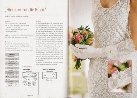 Brauthandschuhe nähen