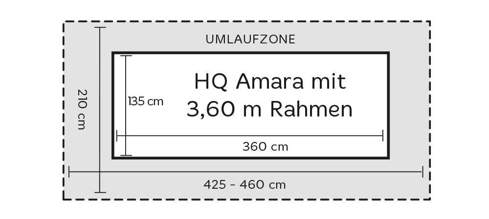 HQ Amara Abmaße